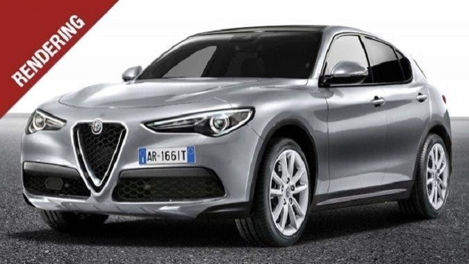 Alfa Romeo Stelvio 'normale': ecco come potrebbe essere