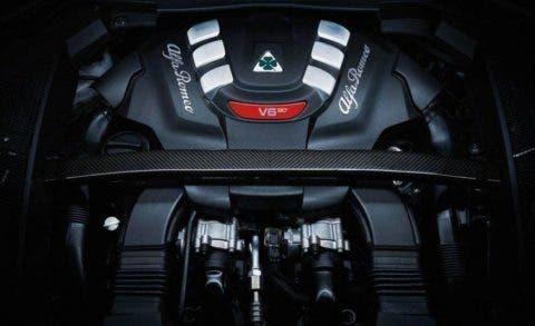 Stelvio QV Motore