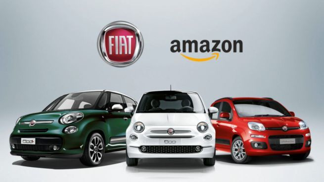 Fiat Chrysler e Amazon