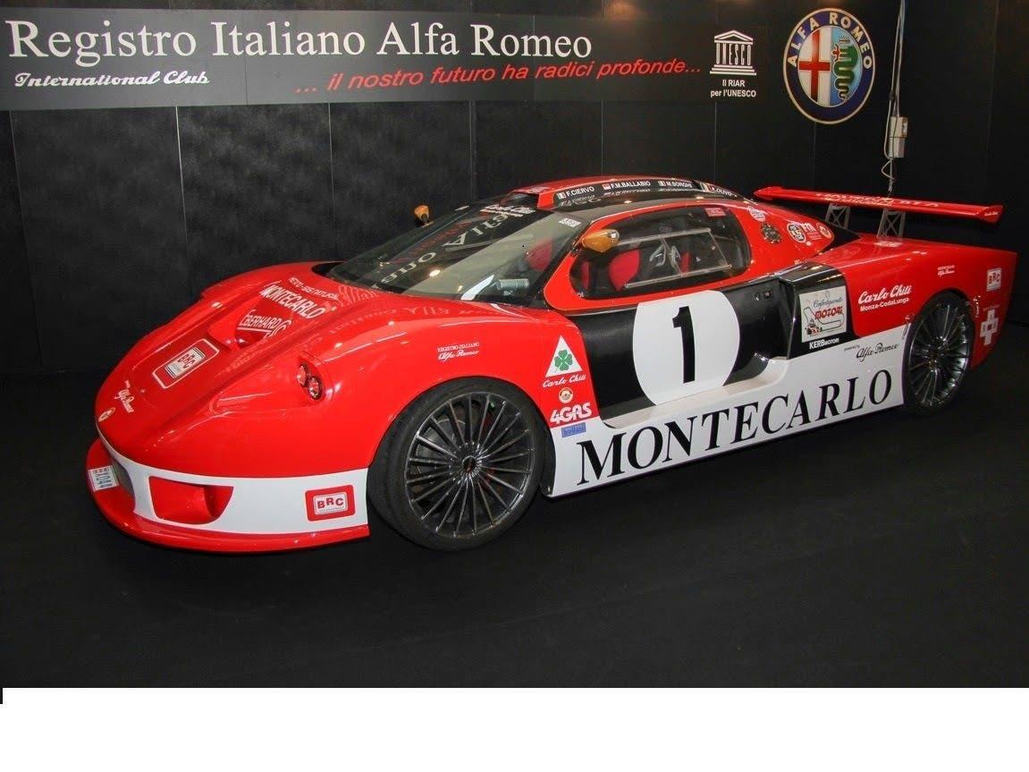 Alfa Romeo, lista chiusa 2017 auto storiche