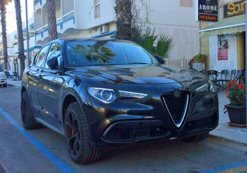 Alfa Romeo Stelvio Veloce Le Immagini In Anteprima Dal Web