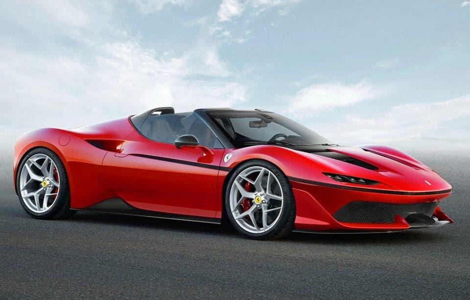 Ferrari J50 presentata in Giappone
