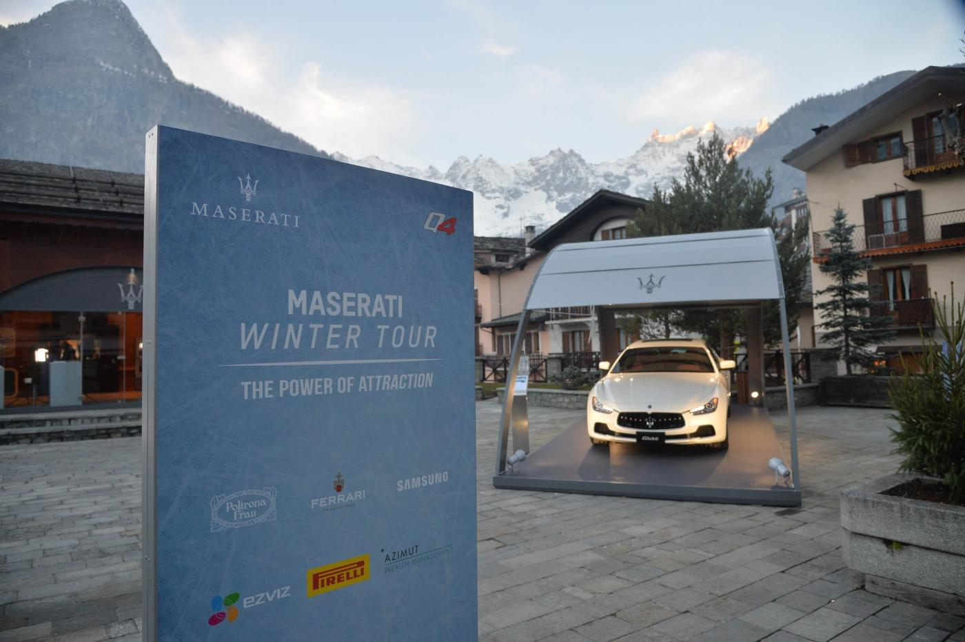 Maserati Winter Tour
