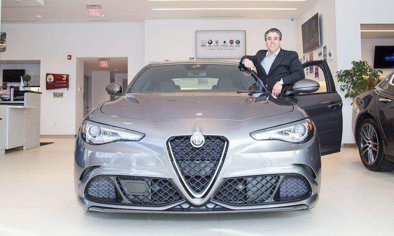 Alfa Romeo Una Nuova Concessionaria Apre In Morris County