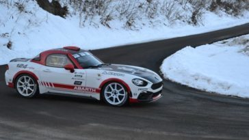 Nuova Abarth 124 Rally