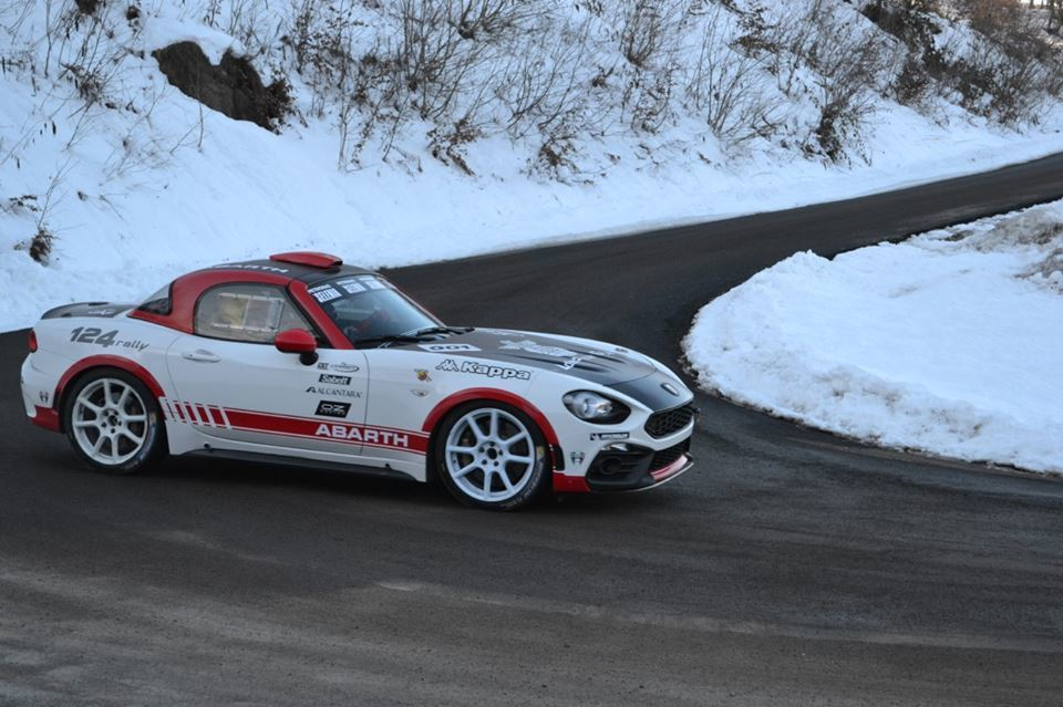 Nuova Abarth 124 Rally