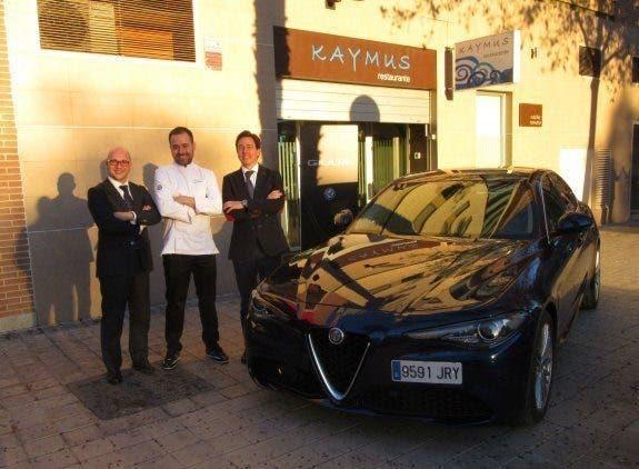 Alfa Romeo Giulia e Nacho Romero