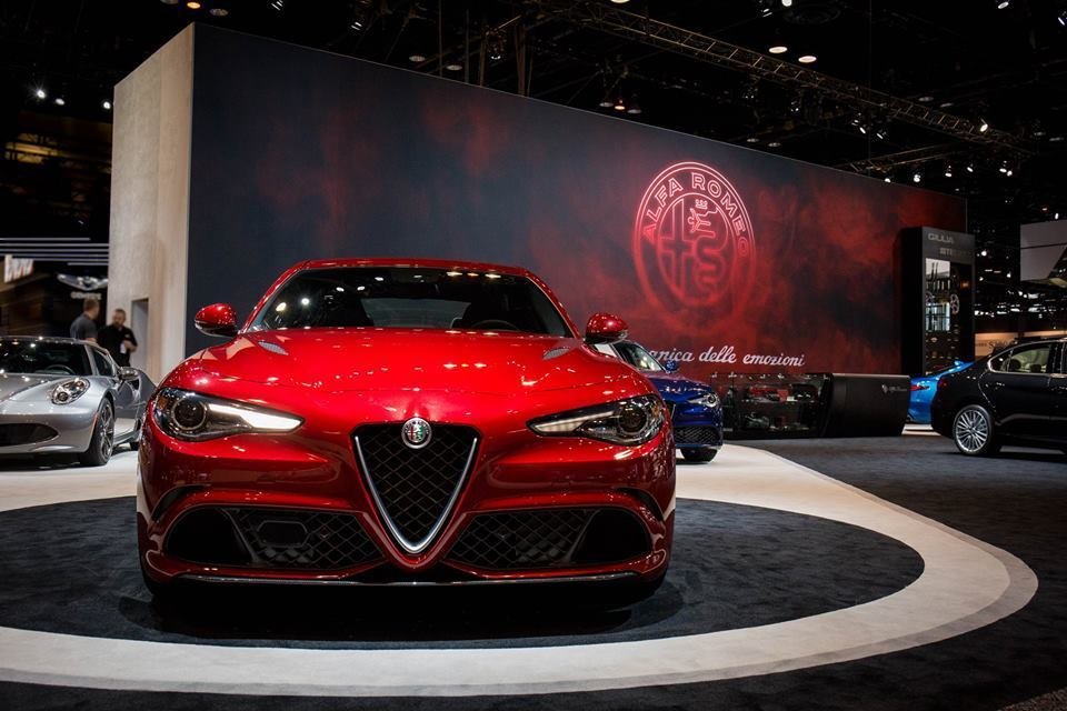 Alfa Romeo protagonista al Chicago Auto Show 2017