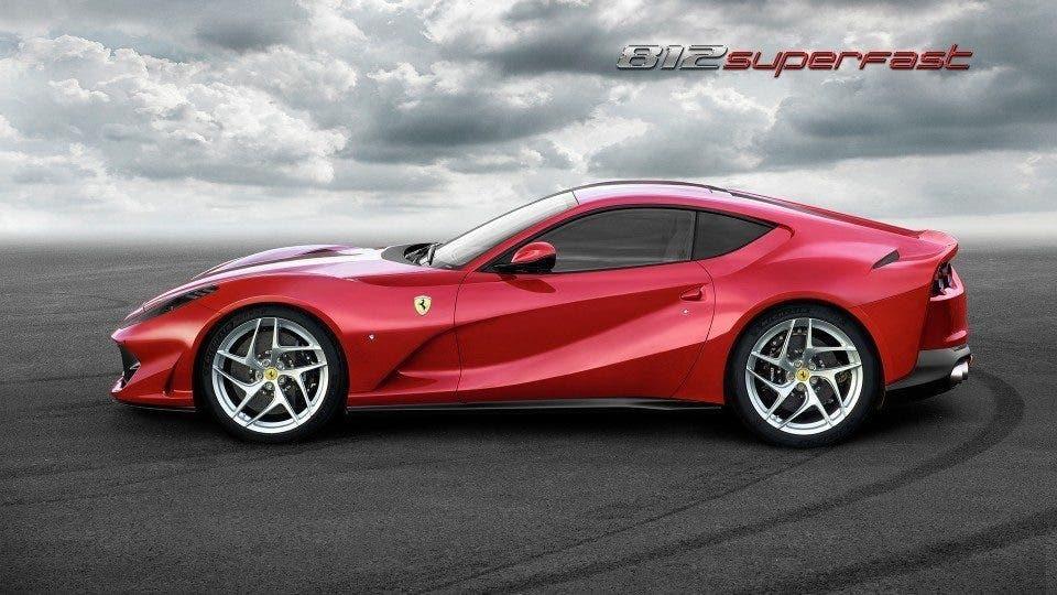Ferrari 812 Superfast a