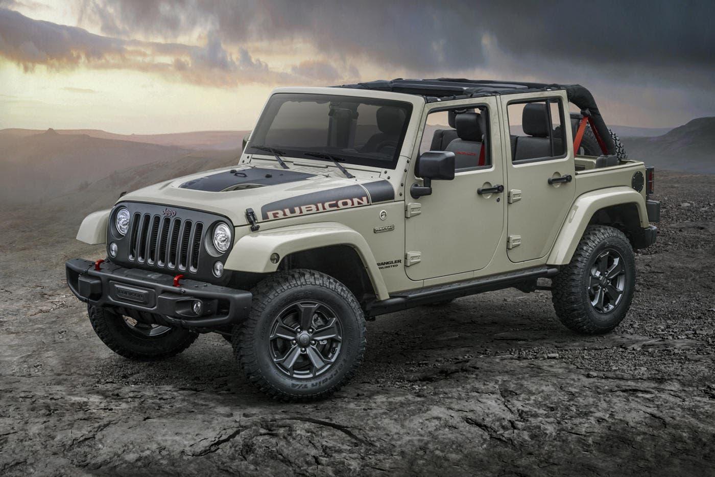 Jeep Wrangler Audio Jeep Wrangler Rubicon Recon: versione estrema del Suv