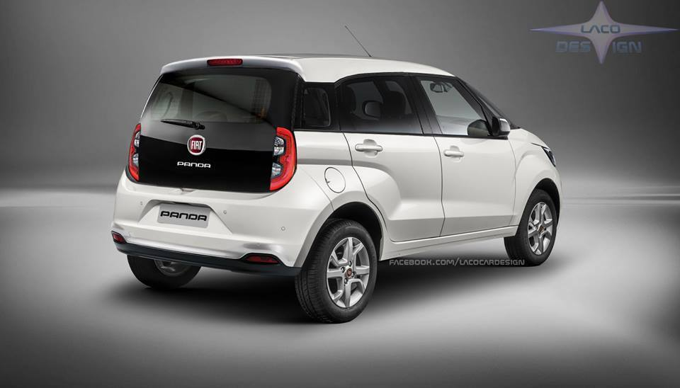 Fiat Panda: il render della futura generazione che ...
