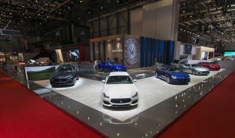 Maserati Saluta Il Salone Di Ginevra Il Tridente Ha Mostrato Due