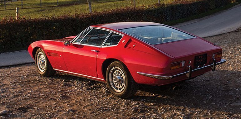 Maserati Ghibli anni 70