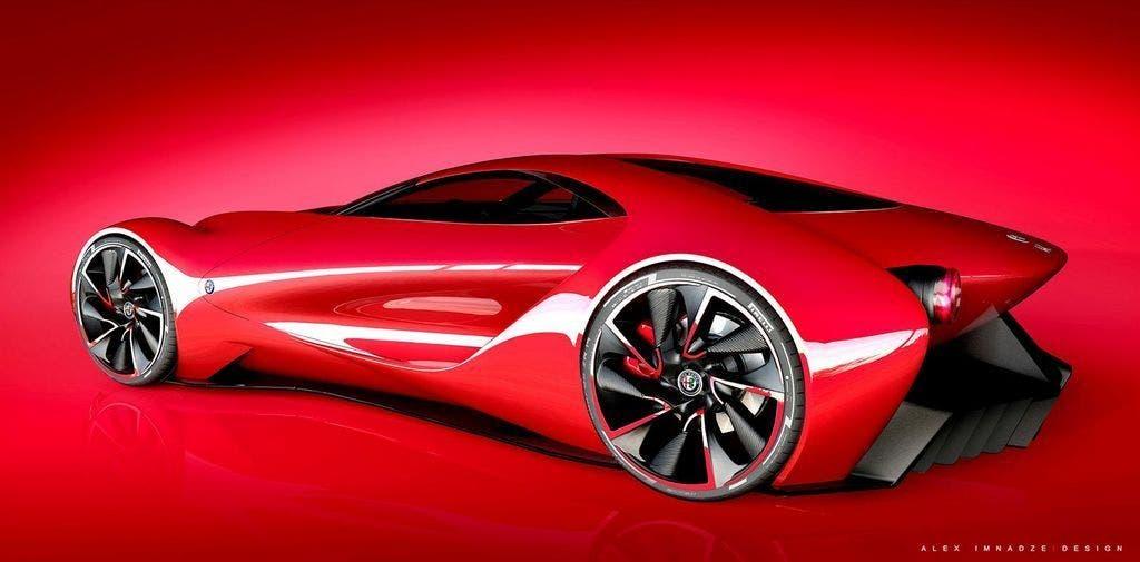 Alfa Romeo 6C Disco Volante posteriore