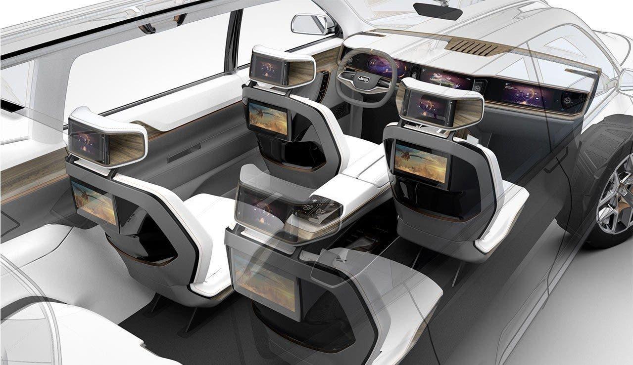 Jeep Yuntu Concept: le prime immagini del SUV ibrido plug-in