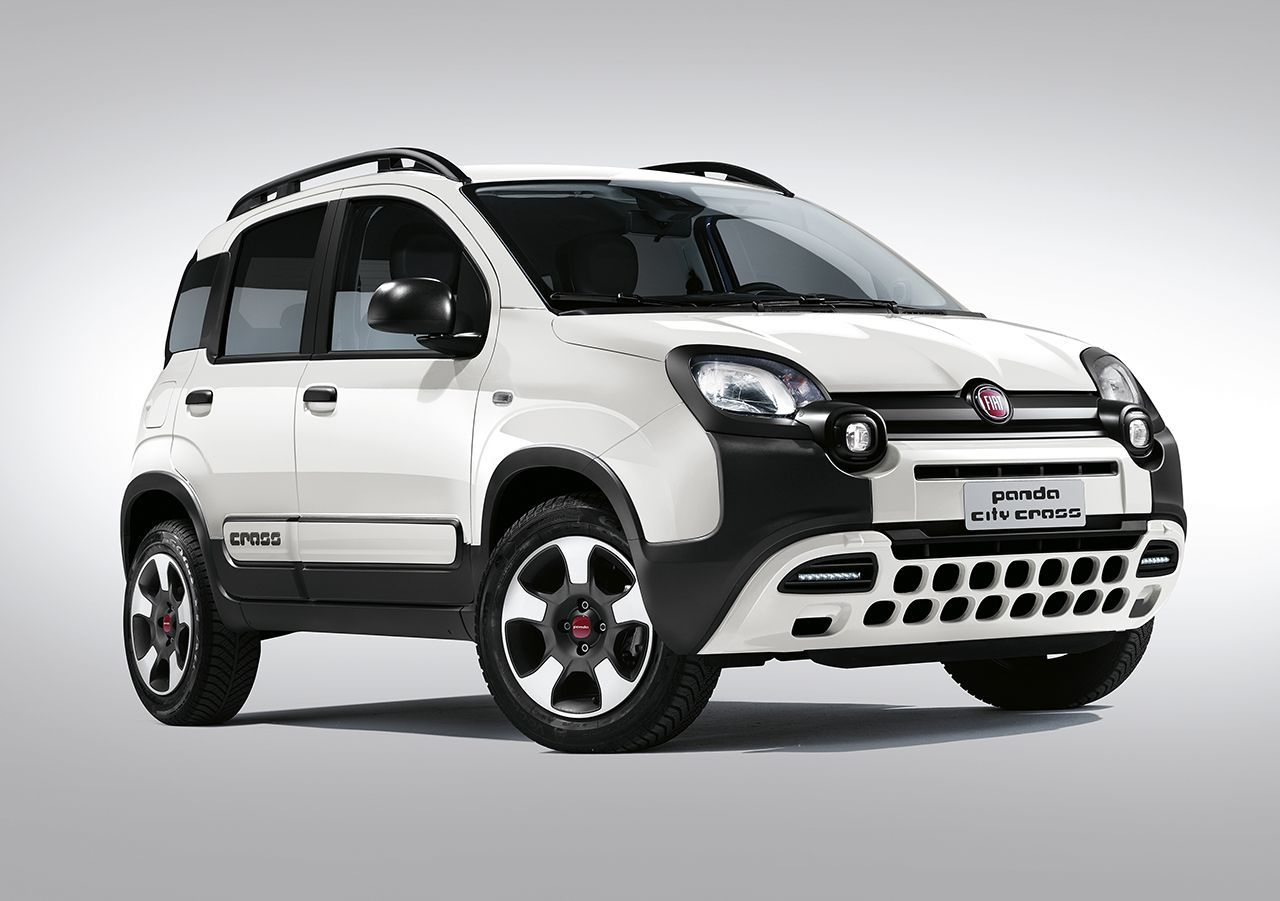 fiat panda disponibili le nuove varianti city cross e 4x4. Black Bedroom Furniture Sets. Home Design Ideas
