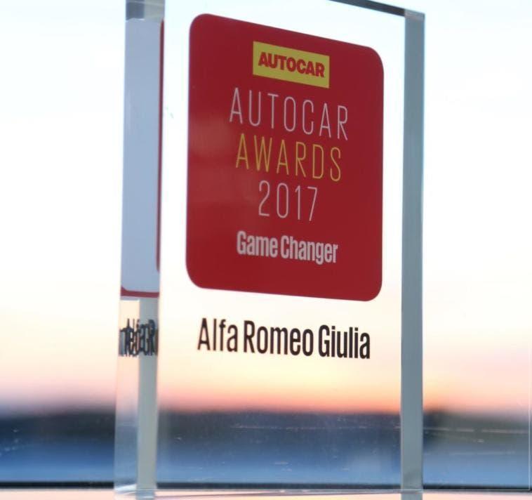 Premio Autocar Alfa Giulia 2017