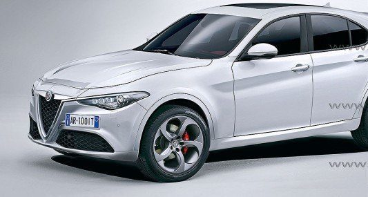 Ipotesi Alfa Romeo E-Suv