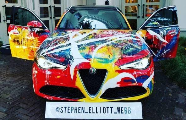 Alfa-Romeo-Giulia art car