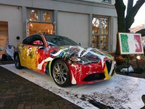 Alfa Romeo Giulia opera d'arte