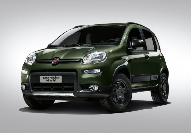 fiat panda city cross 4x2 aperti gli ordini. Black Bedroom Furniture Sets. Home Design Ideas