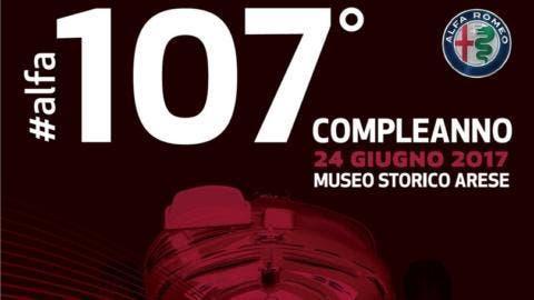 Compleanno evento Alfa Romeo 107 anni