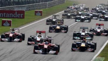 Bozza calendario Formula 1 stagione 2018