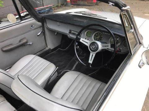 Alfa Romeo Giulia GTC interni