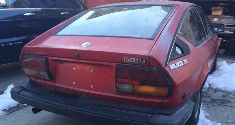 GTV6 Balocco retro dietro rosso