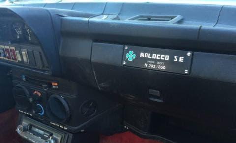 Alfa Romeo GTV6 Balocco SE