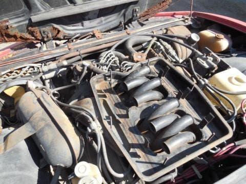 Alfa Romeo Montreal da restaurare