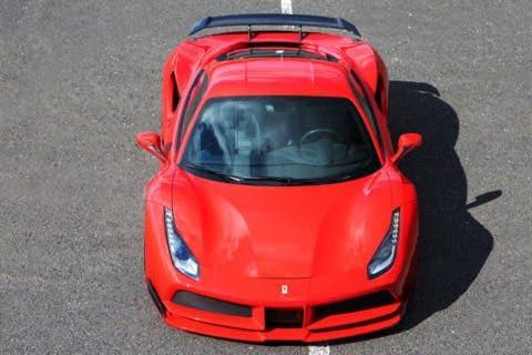 Ferrari 488 N-Largo Novitec