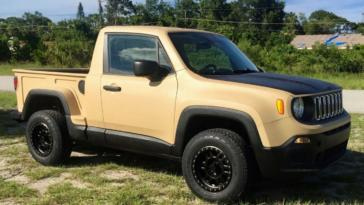 Jeep Renegade pick-up