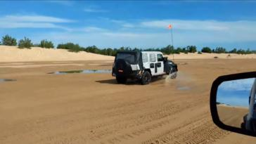 Jeep Wrnagler Unlimited video spia
