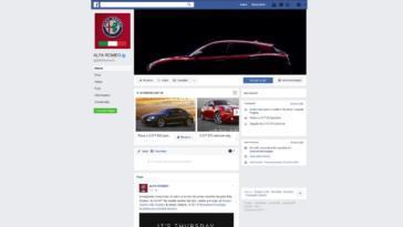 Alfa Romeo Facebook