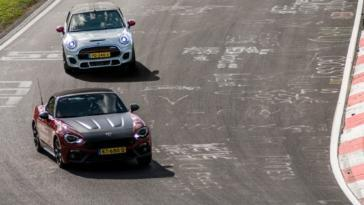 Abarth 124 Spider vs Mini JCW