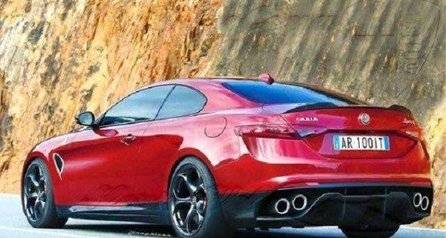 Alfa Romeo Grande SUV e Giulia Coupé 2018