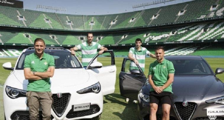 Alfa Romeo sponsor Real Betis