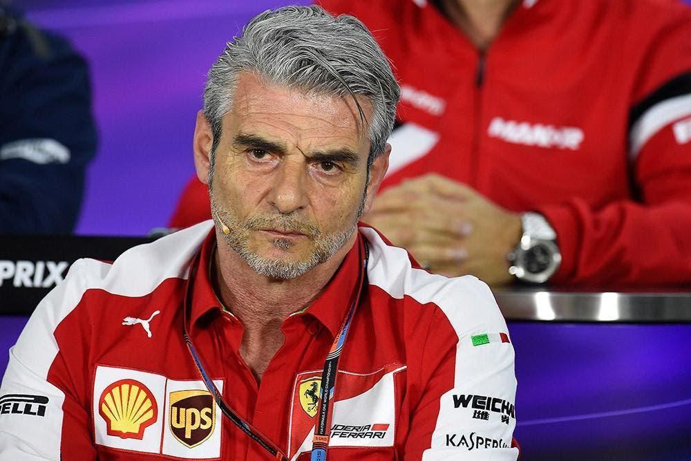 Ferrari Maurizio Arrivabene sostituzione