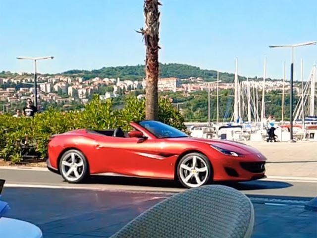 Ferrari Portofino metodo costruzione