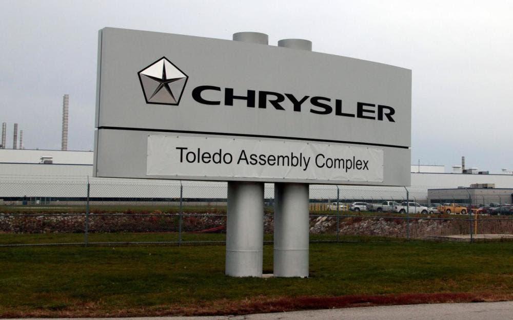 Jeep Wrangler produzione Toledo