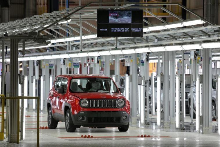 Jeep stabilimento Goiana esportazioni