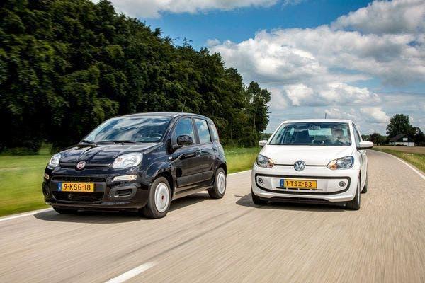 Fiat Panda contro Volkswagen up!