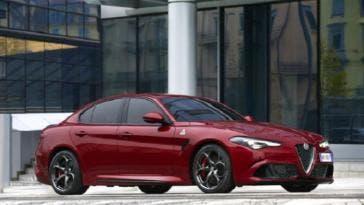 Alfa Romeo Giulia Quadrifoglio Performance Car of the Year