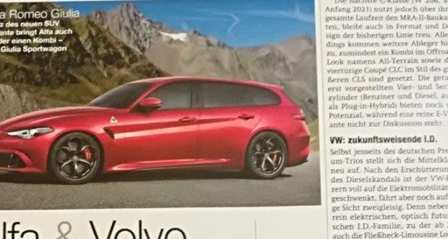 Alfa Romeo Giulia Sport Wagon Auto Motor Und Sport