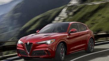 Alfa Romeo Stelvio Quadrifoglio Dubai International Auto Show 2017