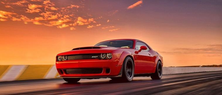 Dodge Challenger SRT Demon concessionarie USA