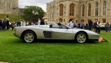 Ferrari Testarossa Spider Gianni Agnelli asta