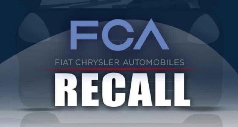Fiat Chrysler Brasile richiamo 8 modelli