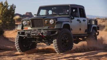 Jeep Scrambler drop-top opzionale